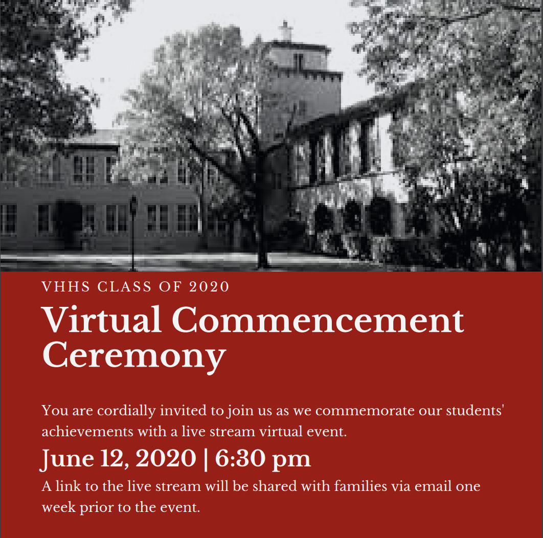 Virtual Graduation Information Sheet