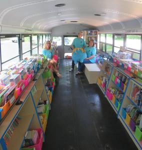 Thornapple Kellogg Schools is a big supporter of the B. Bus effort.