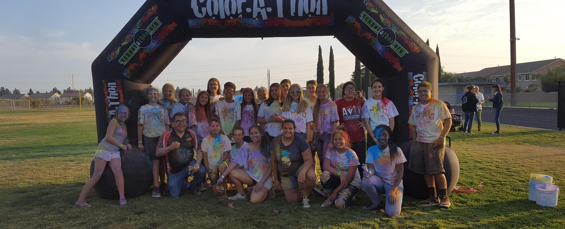 ASB Students at ColorRun
