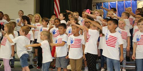 First Grade Constitution Day Concert