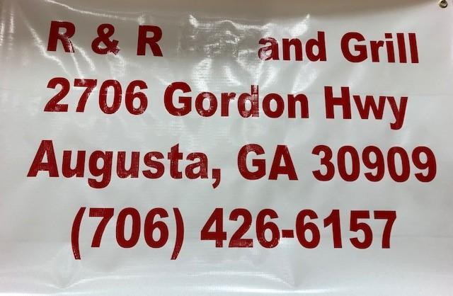 R and R Grill Banner