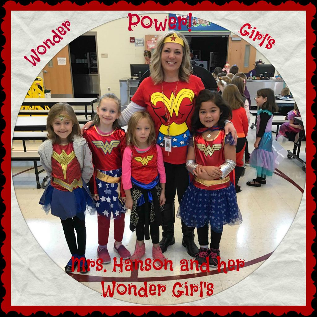 Mrs. Hanson and her Wonder Girls