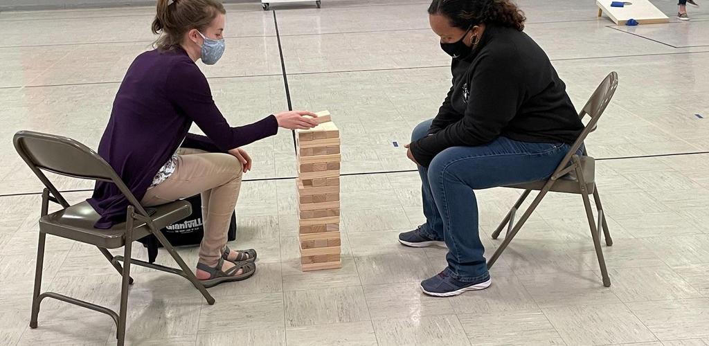 Teachers playing games