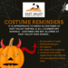 Halloween Costume Reminders