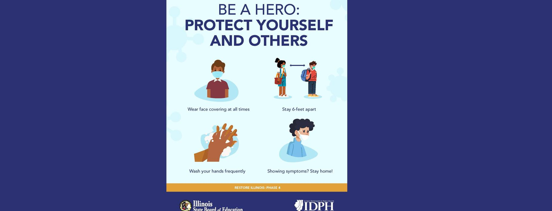 Be a hero protect others