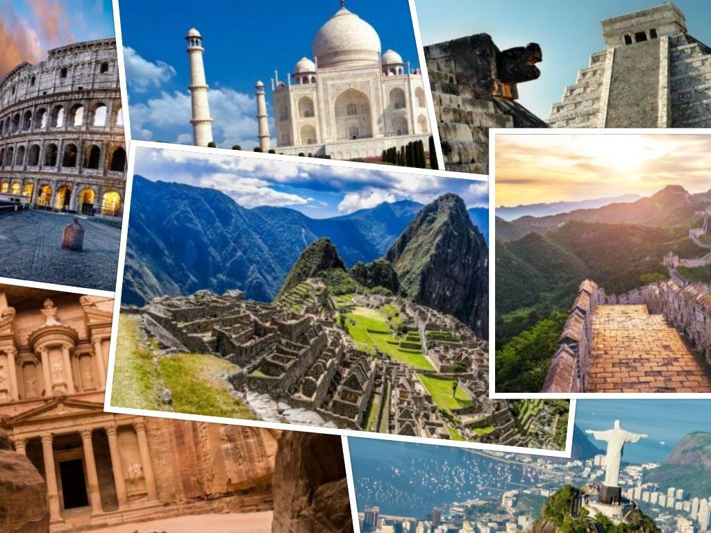 Photos: Images of the 7 Wonders