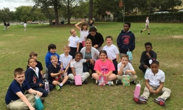 Mrs. Cormier's 3rd grade class
