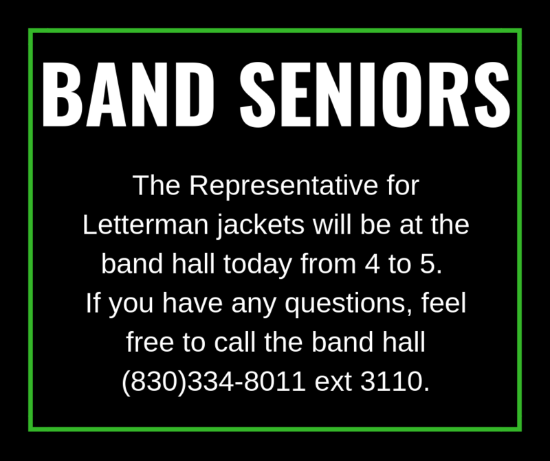 Letterman Jackets for Band Members Thumbnail Image