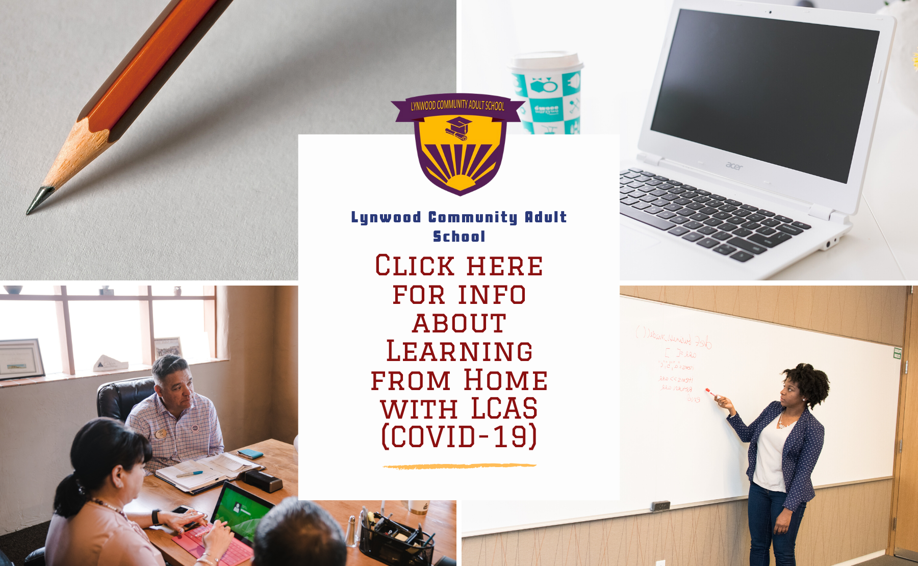 Click here for info about Learning from Home with LCAS (COVID-19)