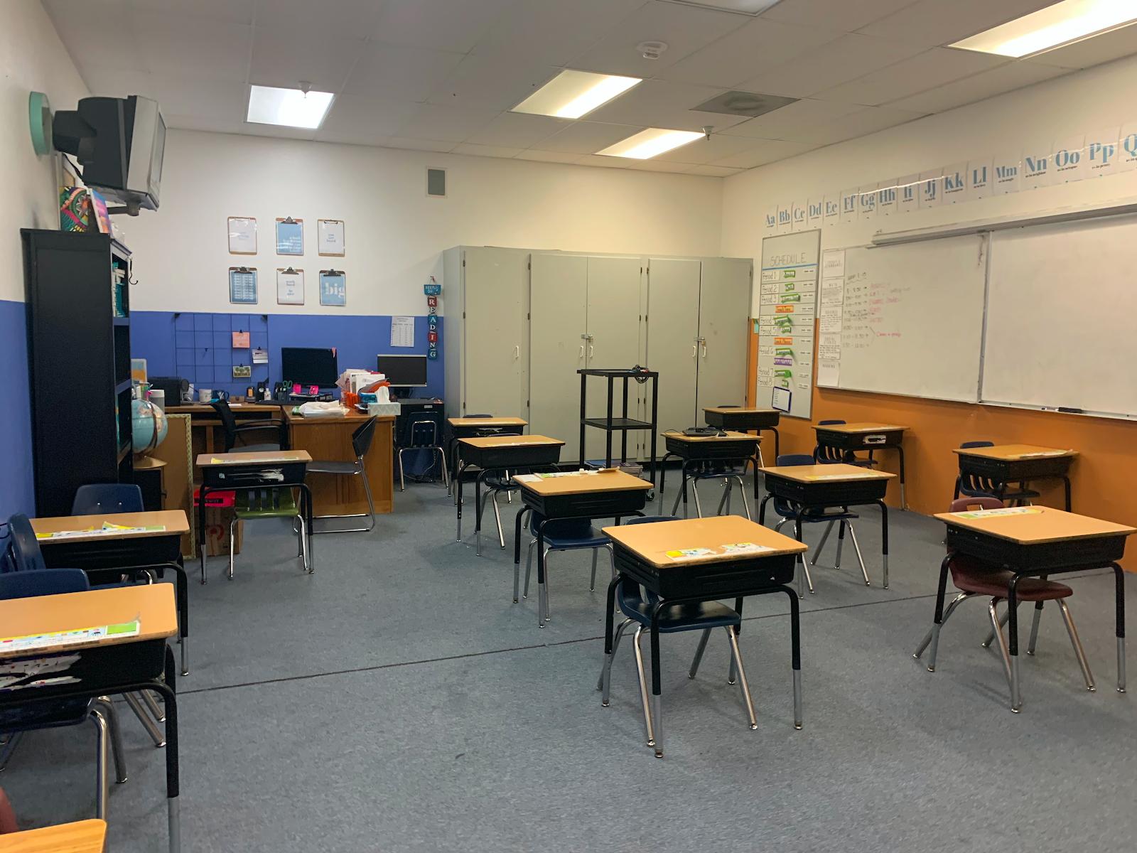 Social distancing classrooms