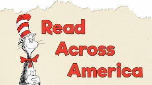 Dr. Seuss Read Across America in red & black colors