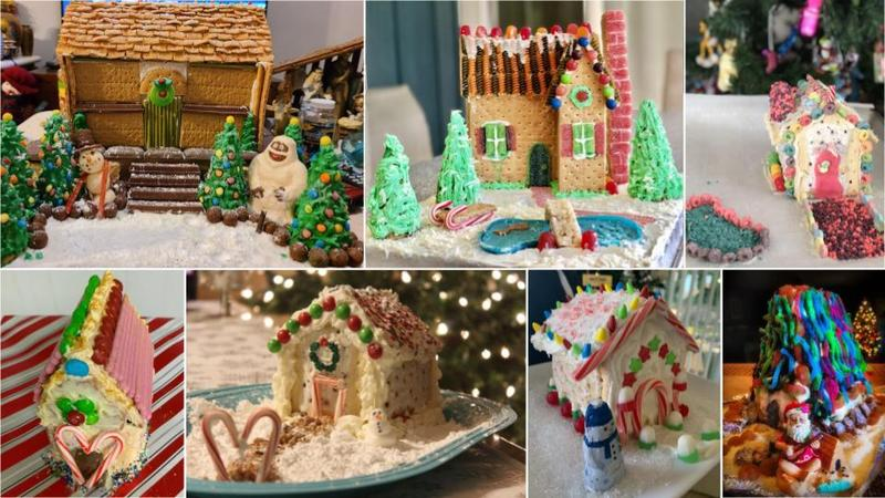Holiday houses made by students of K M S