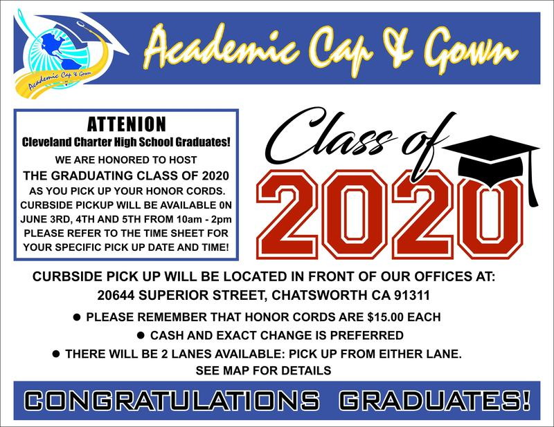 Click for Graduation Cords Information 2020 Featured Photo