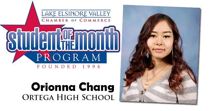 Orionna Chang, OMS Student of the Month, November 10, 2020.