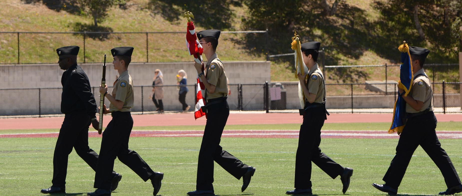 ROTC at 2018 Graduation