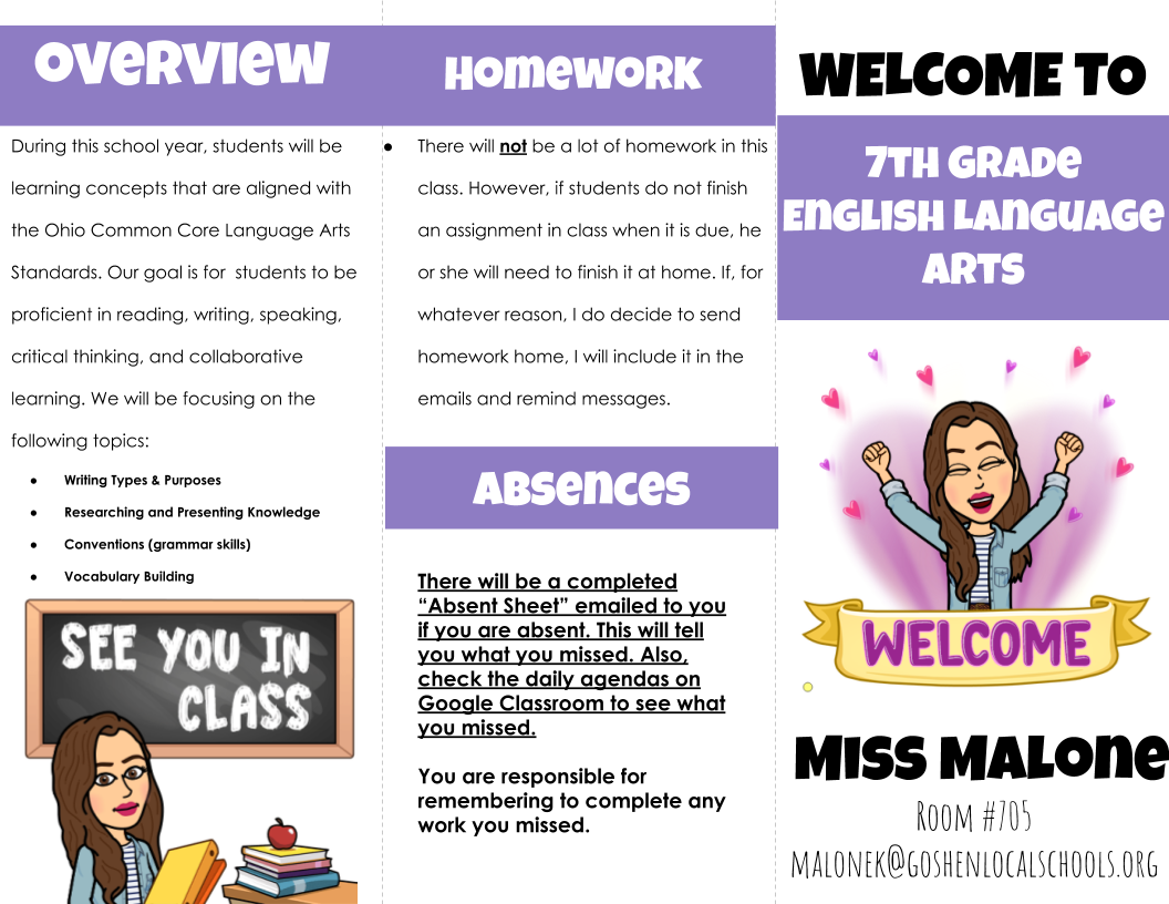 class syllabus- page 1