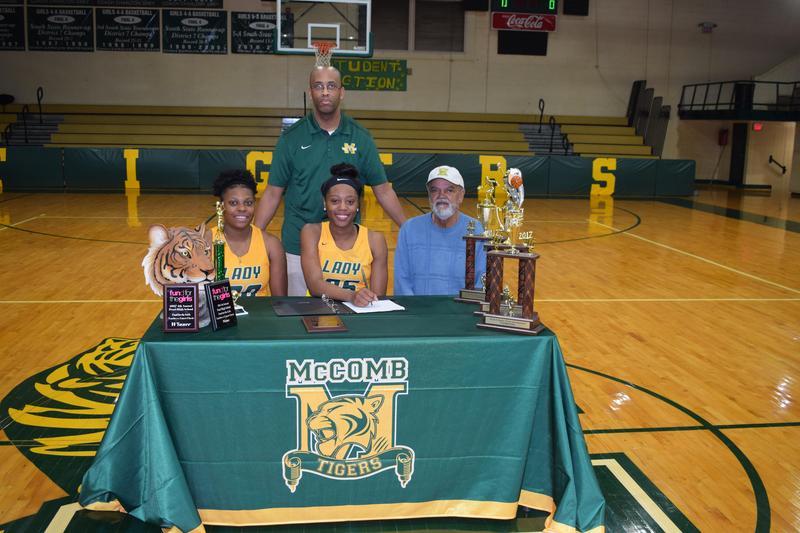 McComb High School Senior Guard Signs Scholarship to play Women's Basketball at Jones Community College