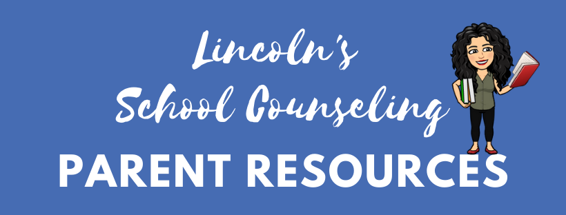 Counseling Parent Resources Banner