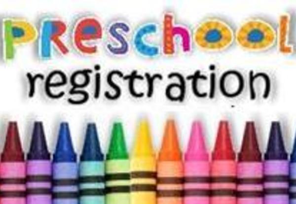 Preschool Registration 2019-2020 Thumbnail Image