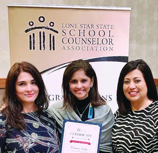 Counselor Pat Avila honored by state