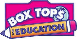 Clip Art of Box Tops for Education Logo