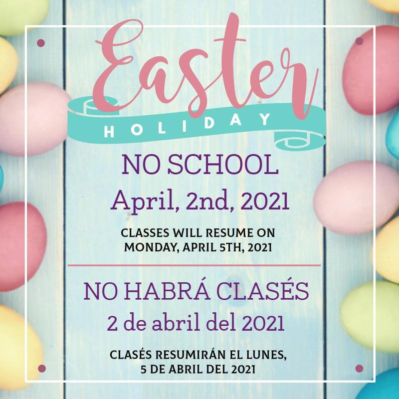 Easter Break - April 2nd - No School Featured Photo