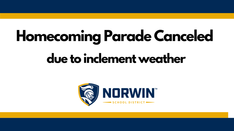 Homecoming Parade Canceled Due to Inclement Weather