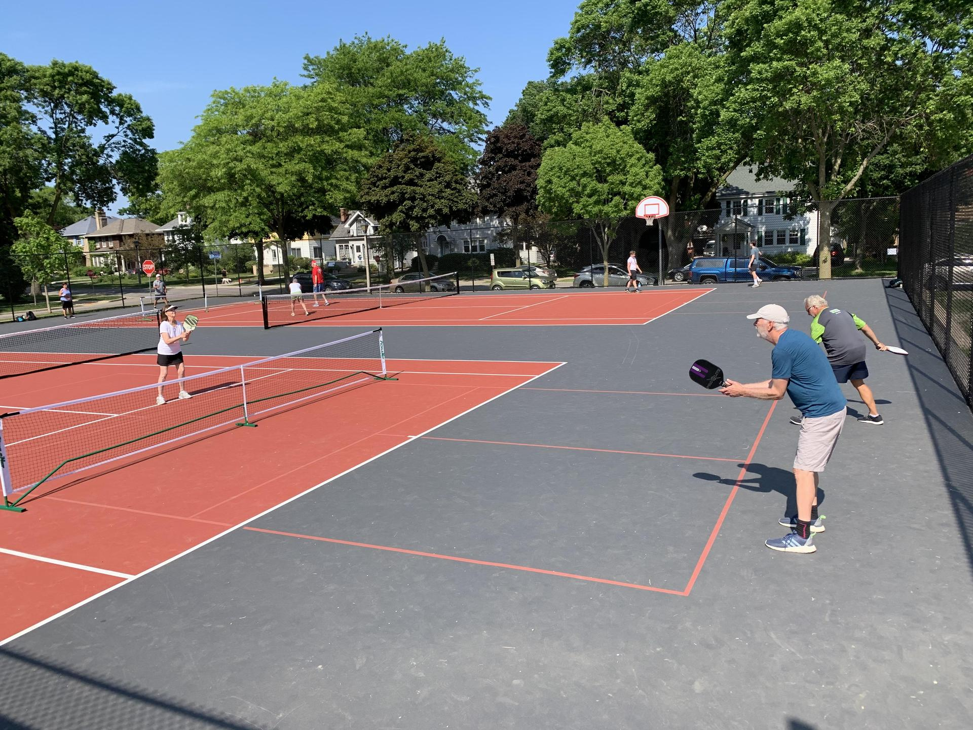Outdoor Pickleball at Atwater Elementary