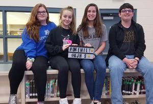 Students who have met the MIllion Word Challenge in April