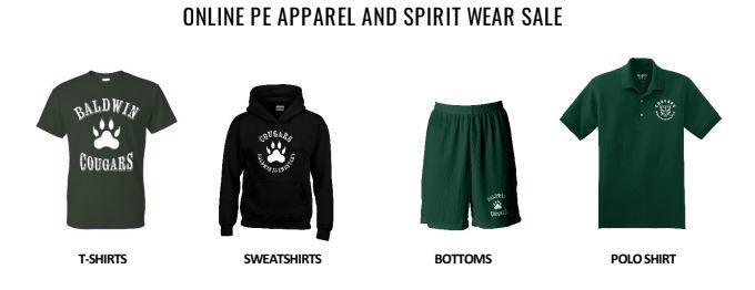 Baldwin Online Uniforms Now Available!!! Featured Photo