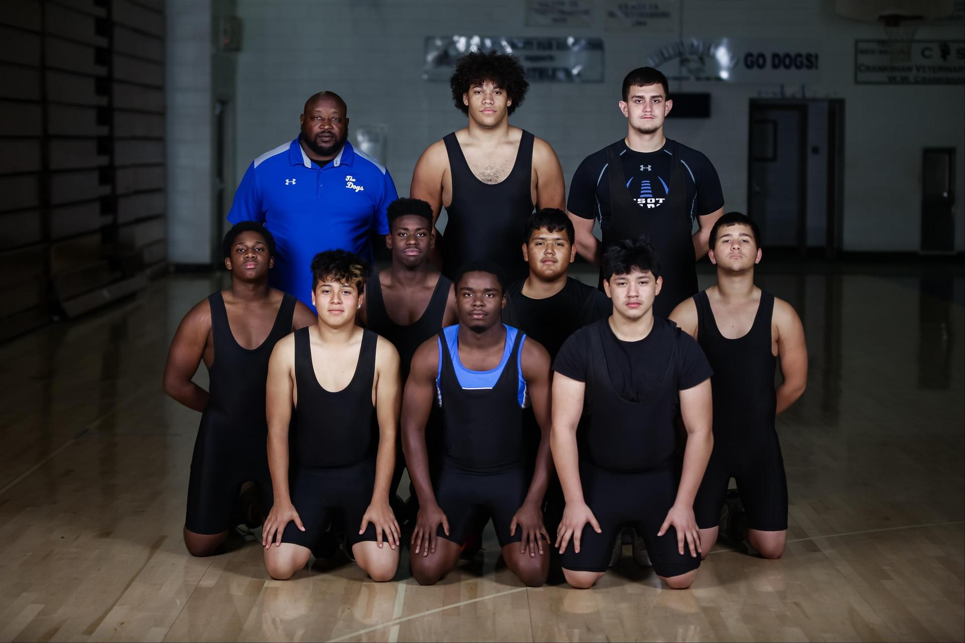 DHS Boys weightlifting team