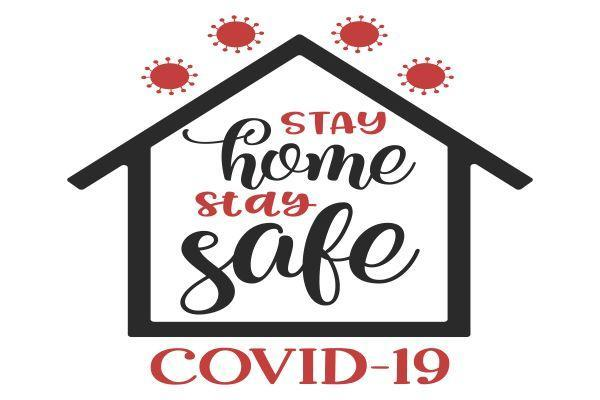 Stay home Stay Safe Image