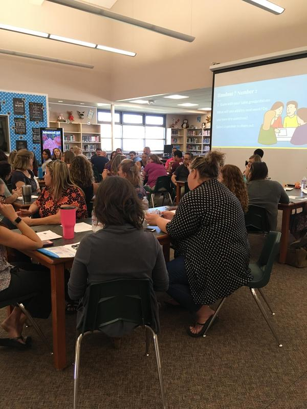 Thank you to Julie Schneider for an excellent Capturing Kids' Hearts PD!