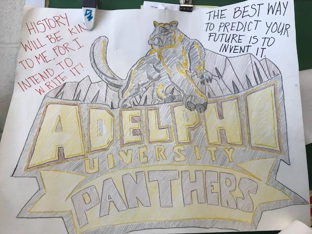 Adelphi U Poster