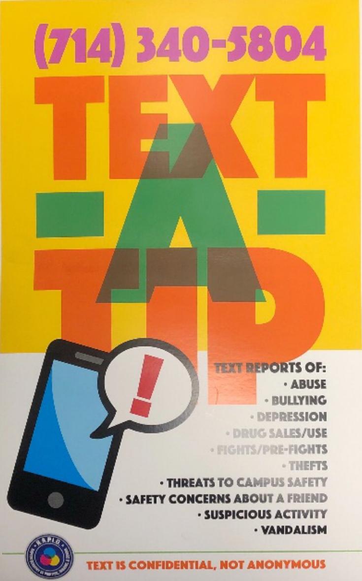 Text A Tip Poster