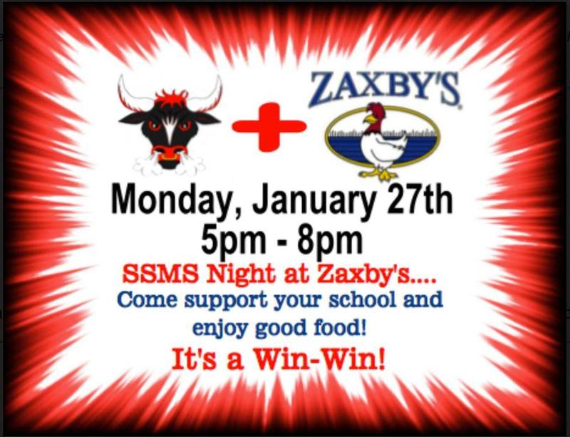 Zaxby's Night Featured Photo