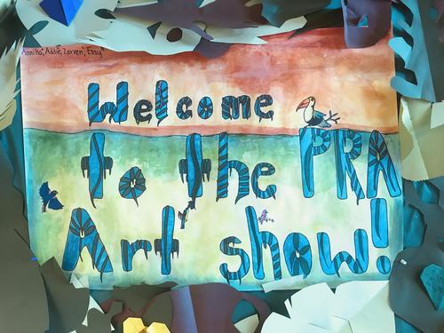 PRA's Annual All School Art Show