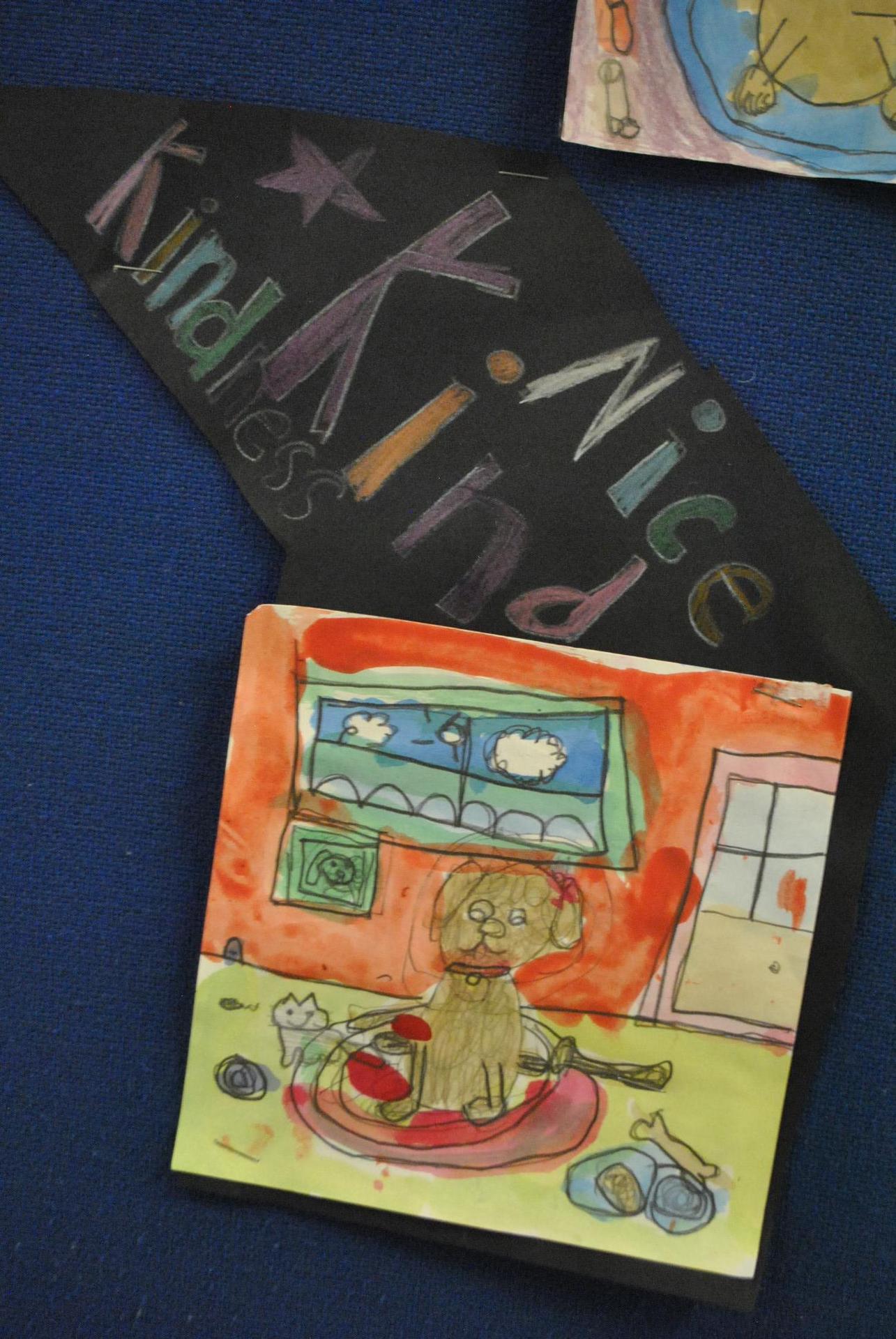 Mrs. Schawl's Positive Murals, SBPS