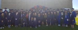 Group photo of alums