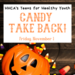 Candy Take Back Event Nov. 1