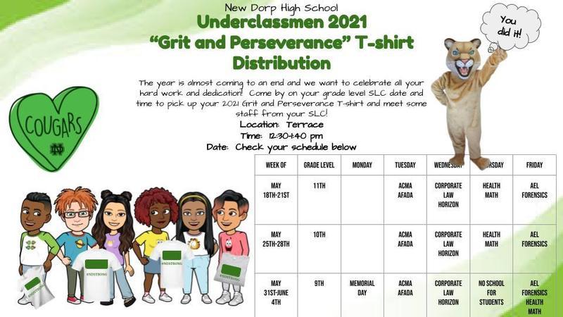 Underclassmen T-shirt Distribution