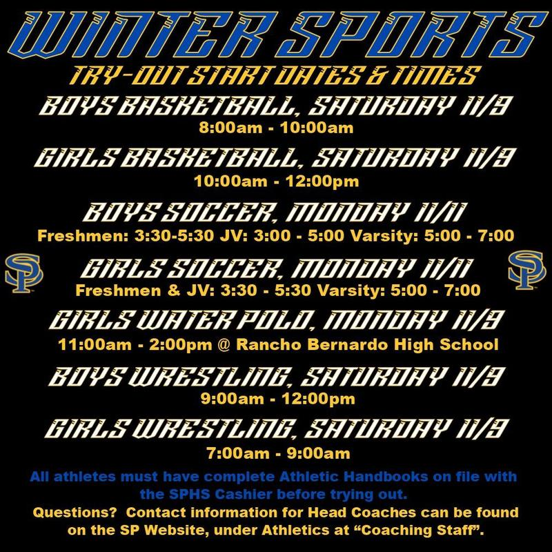 Winter Sport Tryouts Thumbnail Image