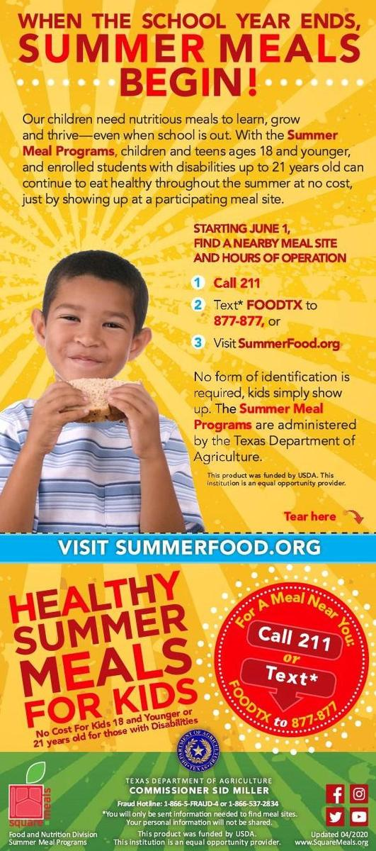 Summer Meals Program_EN