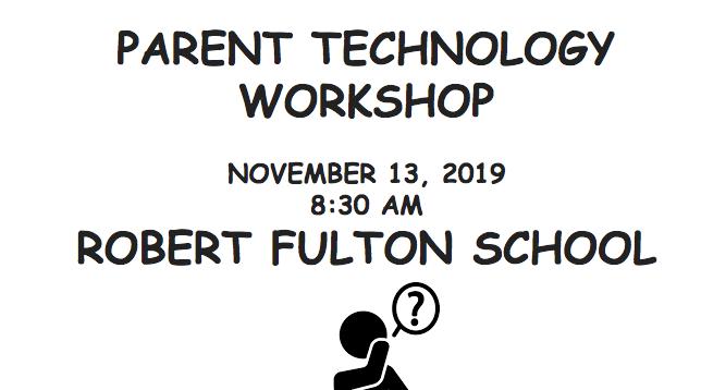 Join US: Parent Technology Workshop, November 13, 2019, 8:30 AM Featured Photo