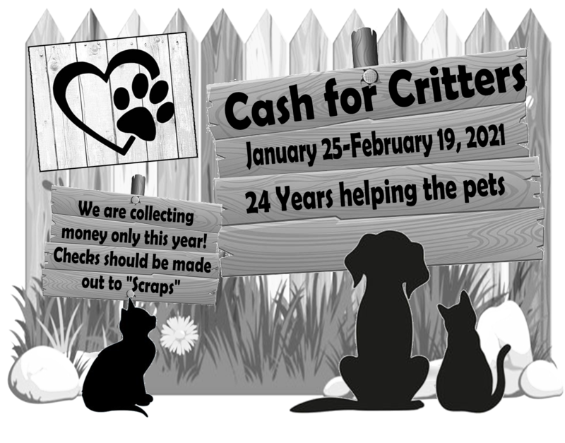Cash for Critters