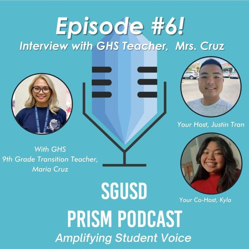 SGUSD PRISM Podcast Promo page