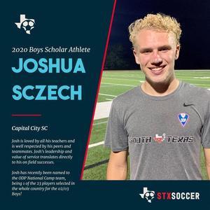 Josh Sczech social media post