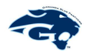 Gananda Blue Panthers Official Logo