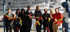 CBO, Superintendent, and Board Members attend the San Gabriel Police Satellite Station Grand Opening at Marshall Park