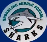 Shoreline shark logo